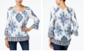 INC International Concepts INC Ruffled Peasant Top, Created for Macy's