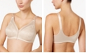 Bali Double Support Front-Close Embroidered Bra DF1003