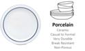 Dansk Dinnerware, Christianshavn Blue Dinner Plate