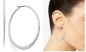 Lauren Ralph Lauren Silver-Tone Hoop Earrings
