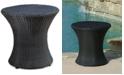 Furniture Gerren Wicker Outdoor Accent Table, Quick Ship