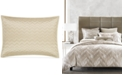 Hotel Collection  CLOSEOUT! Distressed Chevron Quilted Standard Sham, Created for Macy's