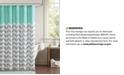 JLA Home Intelligent Design Nadia Shower Curtain