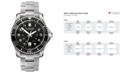 Victorinox Swiss Army Men's Maverick GS Stainless Steel Bracelet Watch 43mm 241436