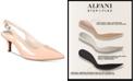Alfani Women's Step 'N Flex Babbsy Pointed-Toe Slingback Pumps, Created for Macy's