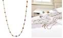 EFFY Collection EFFY® Mosaic Collection Multi-Gemstone Link Collar Necklace (9 ct. t.w.) in 14k Gold