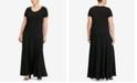 Lauren Ralph Lauren Plus Size Short-Sleeve Fit-and-Flare Dress