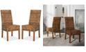 Safavieh Wendale Set of 2 Wicker Side Chairs