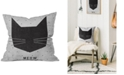 "Deny Designs Wesley Bird Meow 16"" Square Decorative Pillow"