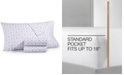 Martha Stewart Collection  CLOSEOUT! 4-Pc. Printed Full Sheet Set, 400 Thread Count 100% Cotton Percale, Created for Macy's