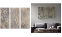JLA Home Madison Park Weathered Damask Walls 3-Pc. Linen Canvas Print Set