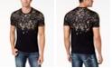 INC International Concepts INC Men's Gold-Foil T-Shirt, Created for Macy's