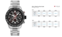 TAG Heuer Men's Swiss Automatic Carrera Chronograph Steel Bracelet Watch 45mm