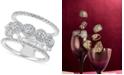 Macy's Diamond Stack-Look Ring (1-1/4 ct. t.w.) in 14k White Gold
