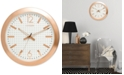 Citizen Gallery Rose Gold-Tone Wall Clock