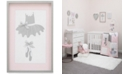 NoJo Ballerina Bows Framed Art