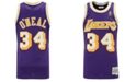 Mitchell & Ness Men's Shaquille O'Neal Los Angeles Lakers Hardwood Classic Swingman Jersey