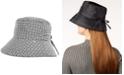 Totes Split-Back Bow Rain Hat