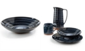 Lucky Brand Blue Wash Dinner Bowl, Created for Macy's