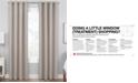 "Hudson Hill Raw Faux-Silk 50"" x 84"" Grommet Window Panel"