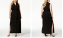 Michael Kors Plus Size Maxi Shirtdress