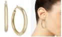 """Thalia Sodi Large 2"""" Gold-Tone Wide Medium Hoop Earrings , Created for Macy's"""