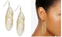 INC International Concepts INC Navette Multi-Ring Drop Earrings, Created for Macy's