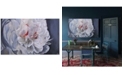 Furniture Ren Wil Floral Art Painting, Quick Ship