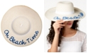 August Hats On Beach Time Floppy Hat