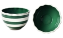 Coton Colors by Laura JohnsonSpot On Ruffle Emerald Bowl