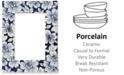 "Lenox Floral Porcelain 4"" X 6"" Photo Frame"