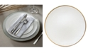 American Atelier Jay Import Laurel White Charger Plate