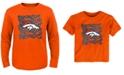 Outerstuff Denver Broncos Graph Repeat T-Shirt, Toddler Boys (2T-4T)