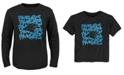 Outerstuff Carolina Panthers Graph Repeat T-Shirt, Toddler Boys (2T-4T)