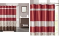 """JLA Home Serene Embroidered 72"""" x 72"""" Faux-Silk Shower Curtain, Created for Macy's"""