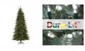 Vickerman 7.5' Camdon Fir Slim Artificial Christmas Tree with 700 Clear Lights