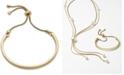 Alfani Curved Bar Slider Bracelet, Created for Macy's