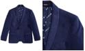 DKNY Big Boys Navy Velvet Suit Jacket