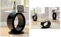 Furniture of America Mason Black End Table