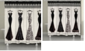 Laural Home Couture Noir Shower Curtain