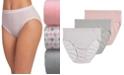 Jockey Elance Breathe Cotton French Cut Underwear 3 Pack Underwear 1541, Extended Sizes