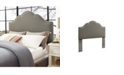 Crosley CLOSEOUT! Preston Camelback Upholstered Full And Queen Headboard In Linen