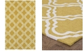 Tommy Bahama Home CLOSEOUT!   Atrium Indoor/Outdoor 51112 Gold/Ivory 5' x 8' Area Rug