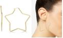 Macy's Star Hoop Earrings