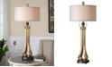 Uttermost Selvino Brushed Brass Table Lamp