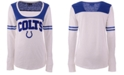 5th & Ocean Women's Indianapolis Colts Sleeve Stripe Long Sleeve T-Shirt