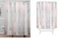 Deny Designs Iveta Abolina Farmhouse Peach Shower Curtain