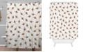 Deny Designs Iveta Abolina Wood Origami Shower Curtain
