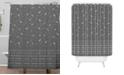 Deny Designs Iveta Abolina Study in Gray IX Shower Curtain