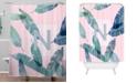 Deny Designs Iveta Abolina Peaches N Cream N Shower Curtain
